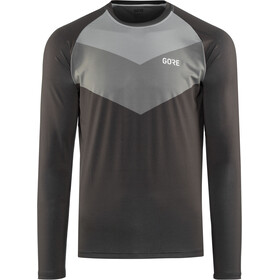 GORE WEAR C5 Trail Longsleeve Jersey Heren, terra grey